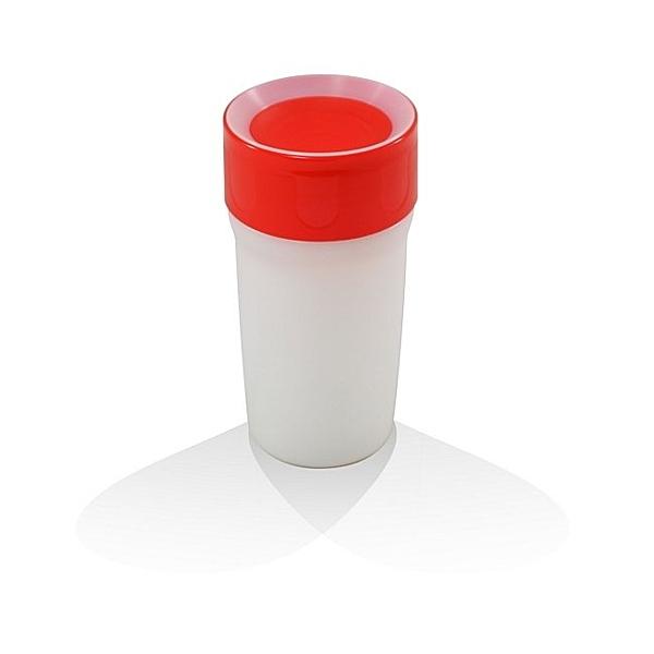 【英國litecup】發光不灑杯 全家人的夜燈水杯 寶石紅