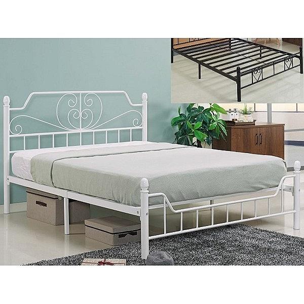 床架 床台 鐵床 FB-089-2 夏佐5尺雙人鐵床 (不含床墊) 【大眾家居舘】