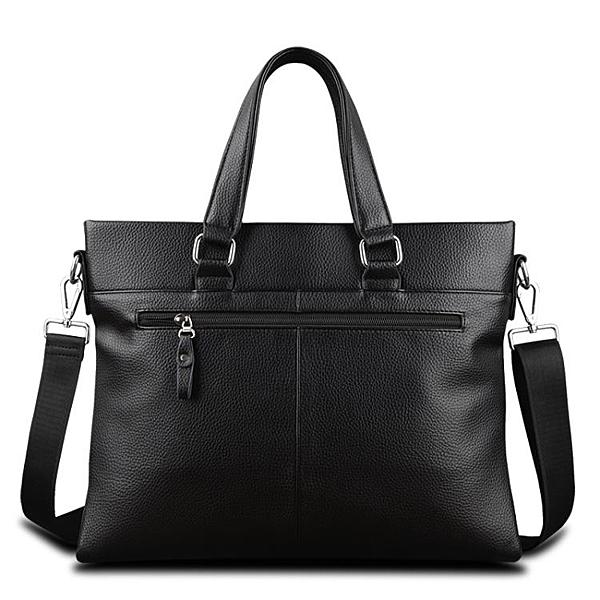 男包橫款男士包包手提包商務公文包側背斜背包休閒皮包男新 黛尼時尚精品