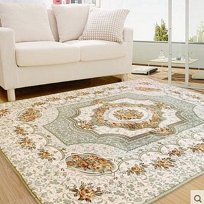 歐式簡約現代 臥室床邊滿鋪地毯 客廳茶几沙發大地毯【190cm×280cm】
