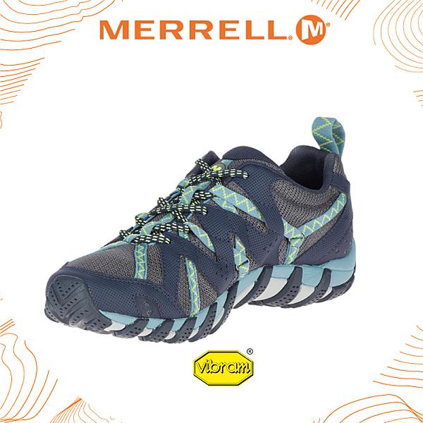 【MERRELL 美國 女 Waterpro Maipo 2 《深藍》】19924/水陸兩棲鞋/多功能鞋/輕量/慢跑/低筒鞋