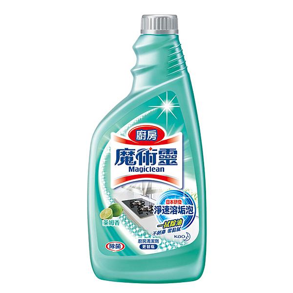 魔術靈 廚房清潔劑 更替瓶 (萊姆香) 500ml/瓶