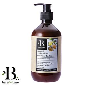 Bare for Bare 天然草本頭屑淨化護髮素 檸檬/柑橘 500ml