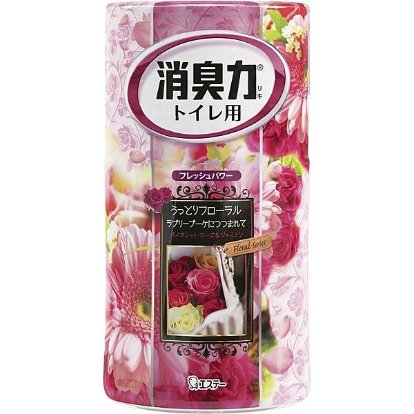 雞仔牌ST浴廁消臭力-幸福花朵香400ml