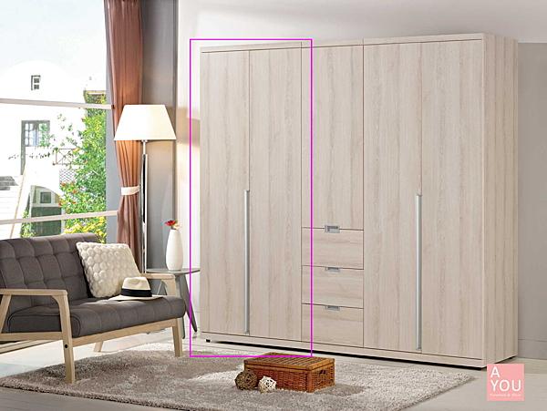 愛莎2.6尺衣櫥(收納)  大特價10800元(大台北免運費)【阿玉的家2019】