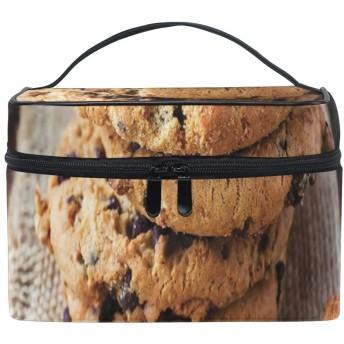 三郎の市場 クッキー 化粧ポーチ トイレタリーバッグ トラベルポーチ 洗面用具入れ バスルームポーチ 小物 収納 バッグインバッグ 出張 海外 旅行グッズ 育児グッズ