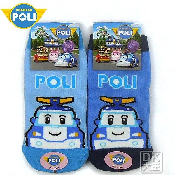 POLI 波力止滑直板襪 星星款 PL-S1212B ~DK襪子毛巾大王