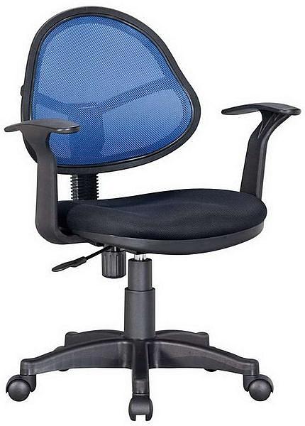HP369-19 辦公椅JS-05/三明治布+藍網布