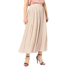 (ノーリーズ) NOLLEY'S [新色追加]割繊ギャザーロングスカート 9-0035-3-06-010 36 ベージュ