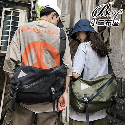 側背包 多功能機能箭頭日系斜背包【NQA5183】