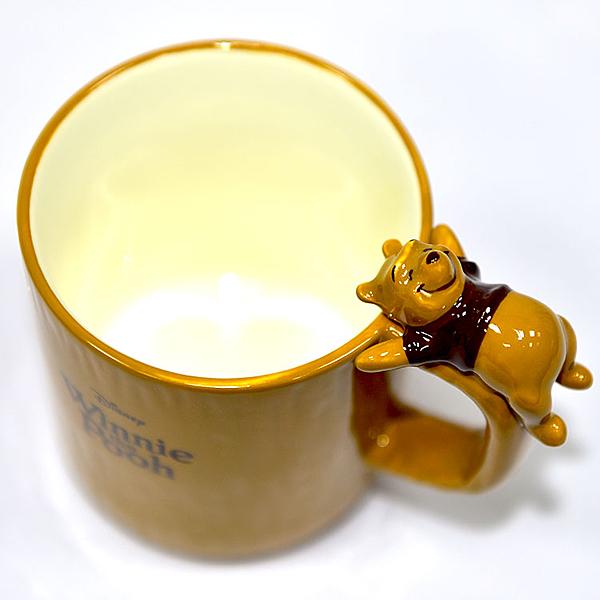 小熊維尼在馬克杯上 陶瓷馬克杯 日本正版 250ml