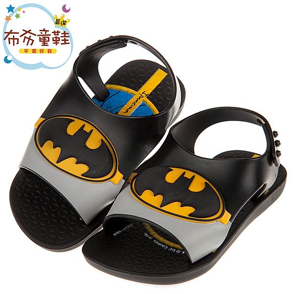 《布布童鞋》Ipanema蝙蝠俠黑色寶寶涼鞋香香鞋(12.5~15公分) [ U9E766D ]