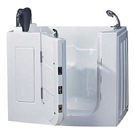 【海夫健康生活館】開門式浴缸 108S-R 氣泡按摩款 (110*63*92cm)