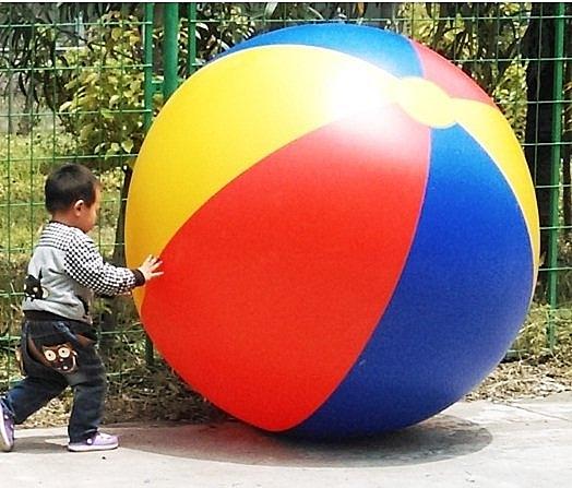 [衣林時尚] 巨大沙灘球 海灘球 巨大活動球(寬直徑約130cm) 訂製款有現貨 厚0.22mm