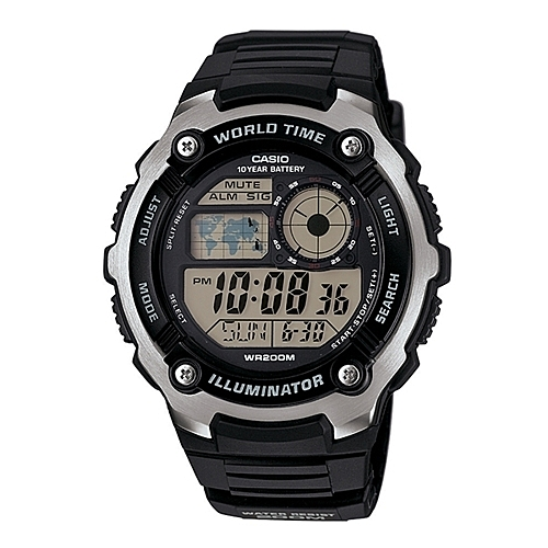 CASIO 10年電力錶款/AE-2100W-1A