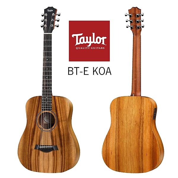 小叮噹的店-Taylor BTe KOA 全相思木 面單 限量版 34寸旅行吉他 泰勒吉他 ES-B拾音器