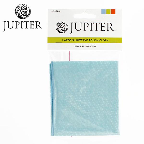 【小叮噹的店】全新JUPITER JCM-PC01  擦琴布 擦拭布 藍色.兩用 管樂 E3 原廠公司貨