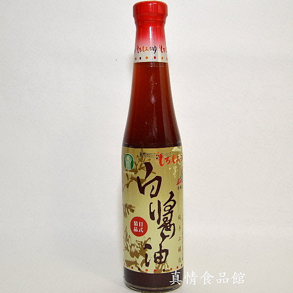 百大西螺日式白醬油400ml