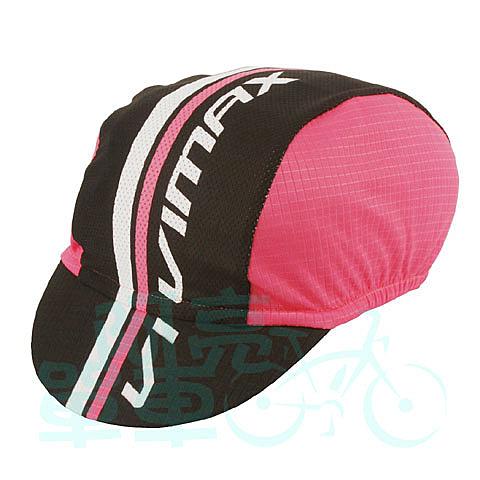 *阿亮單車*Vivimax 單車小帽,vivimax字樣,粉紅色《C00-801-T》