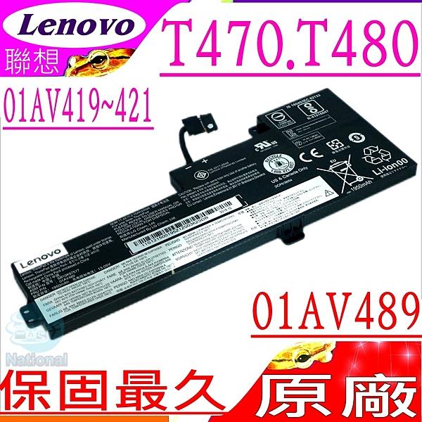 LENOVO 電池(原廠 內置式)-聯想 T470,T480,T570,01AV489,01AV419,01AV420,01AV421,SB10K97577,20HDA004CD