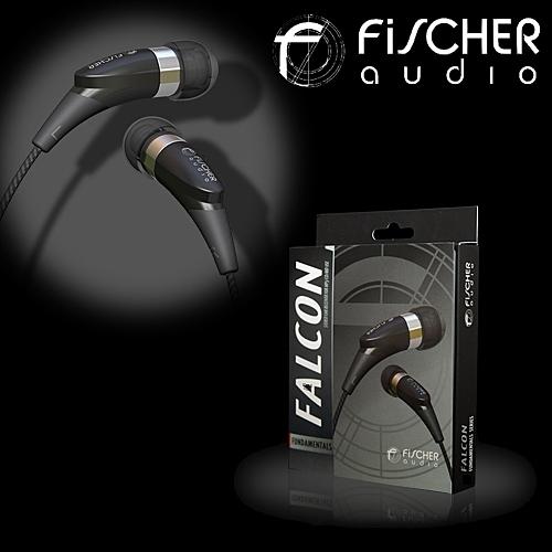 FiSCHER audio Falcon獵鷹 標準系列 密閉型耳塞式耳機 編織導線 能夠有效隔絕外來音源
