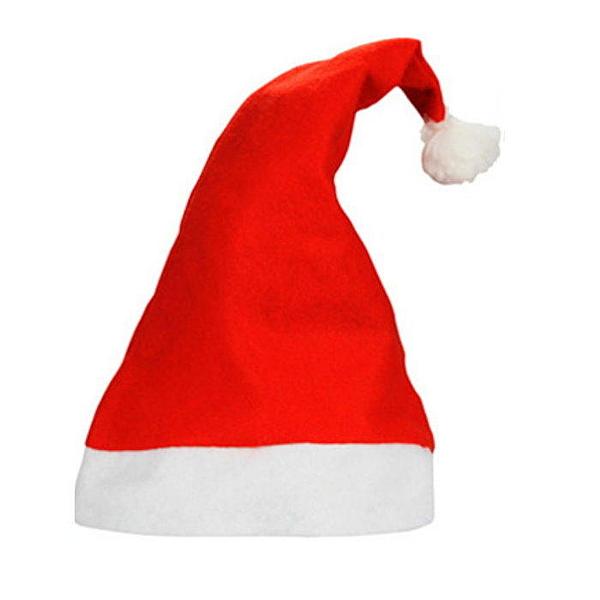【DI218】紅色耶誕帽 聖誕帽 聖誕裝扮 (大人款) EZGO商城