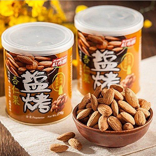 【紅布朗】鹽烤杏仁果 (170g/罐)