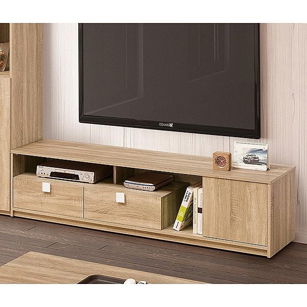【森可家居】多莉絲6尺電視櫃 9ZX362-3 長櫃 木紋質感 無印風 北歐風