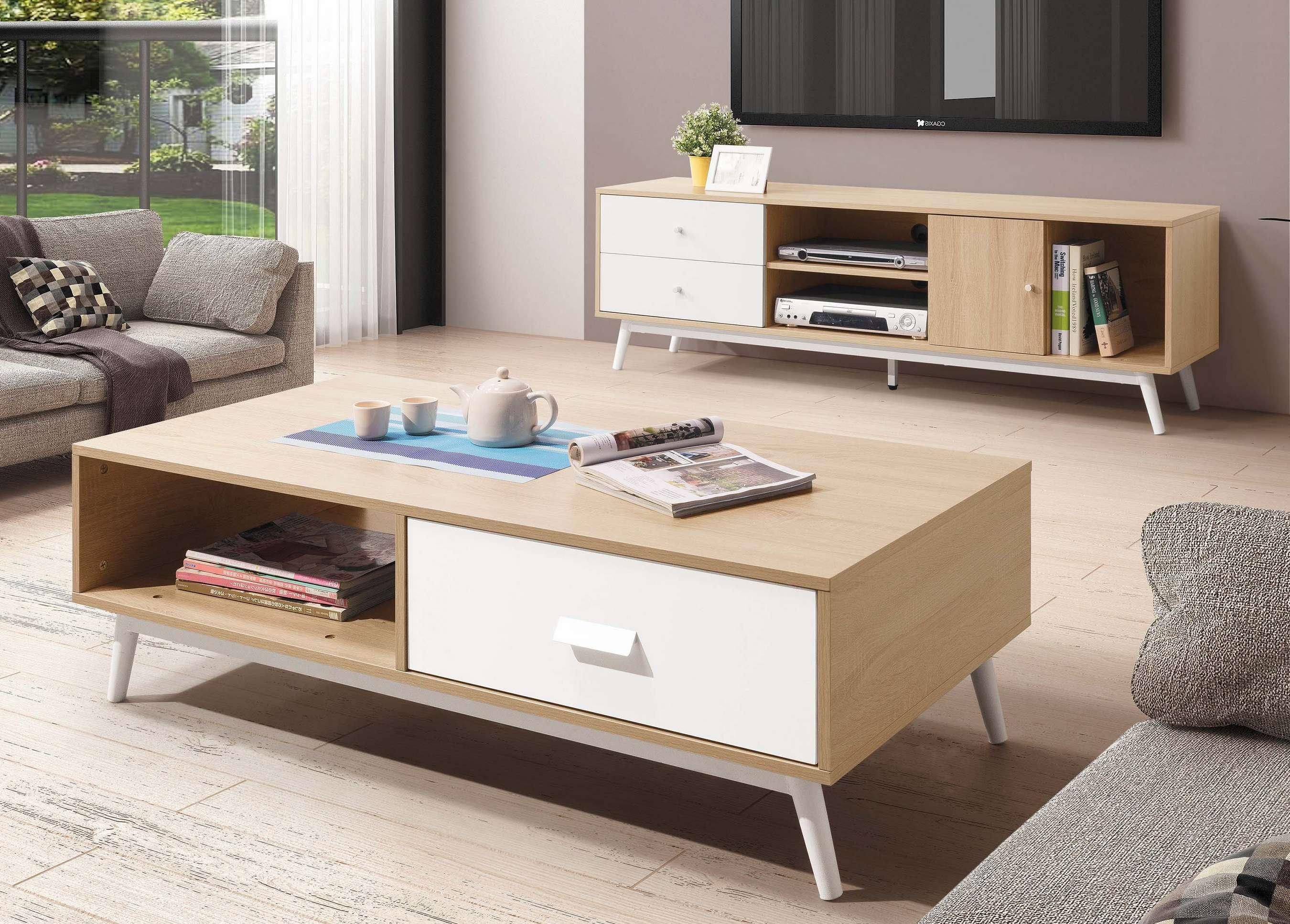 【簡單家具】,H289-01 安東尼北歐大茶几,大台北都會區免運費