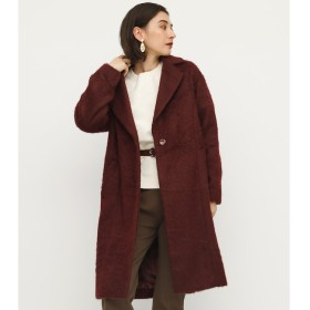 【スライ/SLY】 SHAGGY CHECK OVER COAT