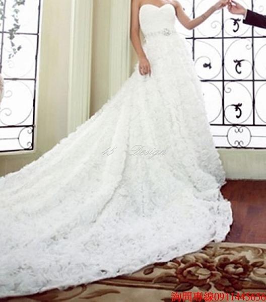 (45 Design) 來圖訂製款. 加大尺吋中大尺碼~新娘禮服 婚紗.長禮服白紗(可定製顏色XXS~ 5XL 6XL 7XL 加大)