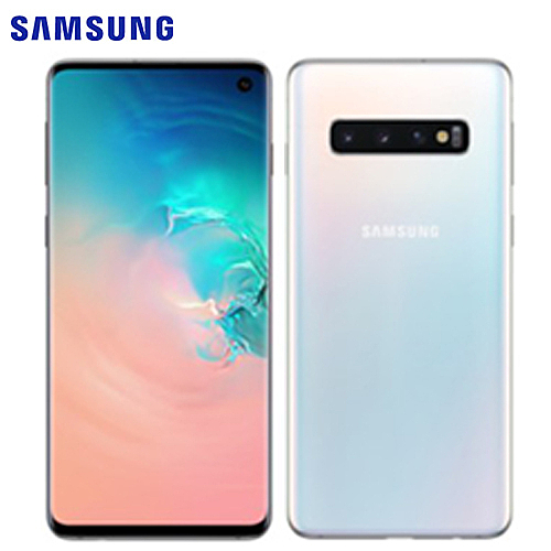 Samsung三星 Galaxy S10 6.1吋智慧手機-絢光白【愛買】