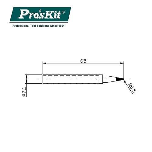 ProsKit 寶工 SI-139用圓尖烙鐵頭 5SI-139-B