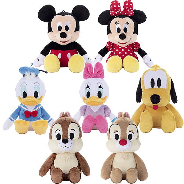 迪士尼 絨毛玩偶 娃娃 2018 米奇 米妮 唐老鴨 黛西 布魯托 奇奇蒂蒂 日本正版 該該貝比日本精品