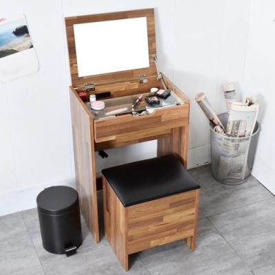 凱堡 愛莉絲化妝收納桌椅組 化妝品收納 化妝桌 梳妝台 化妝