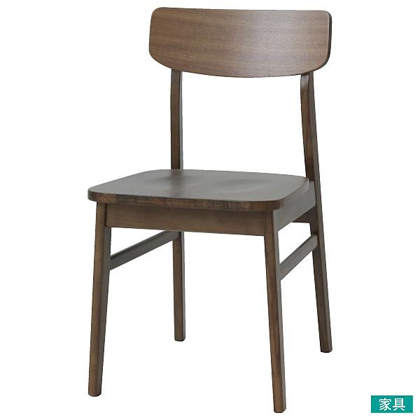 ◎木質餐椅 FILLN3-M MBR NITORI宜得利家居
