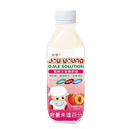 嬌嬰 電解質/電解水補充飲品(水蜜桃)360ML【德芳保健藥妝】