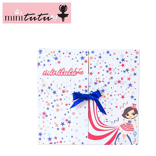 Mini-tutu 髮飾禮盒(美國國旗)