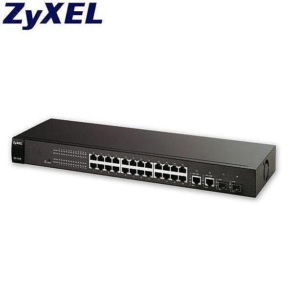 全新 合勤 ZyXEL GS1900-24 24-port 智慧型網管交換器 具備GbE Uplink