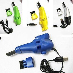 【超取399免運】USB迷你吸塵器 電腦吸塵器/ 附LED燈