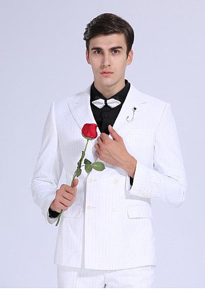 45 Design) 7天到貨 整套西服 西裝 韓 超修身 素面 雅痞成套西裝 外套 西服 3件套伴郎服