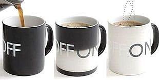 神奇感溫開關變色杯 咖啡杯 創意家居