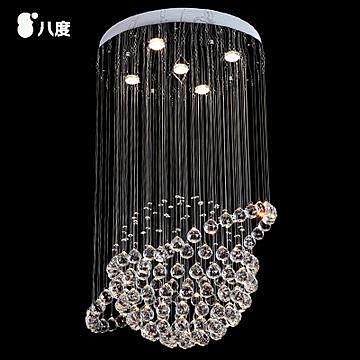 現代簡約時尚餐廳燈水晶吊燈