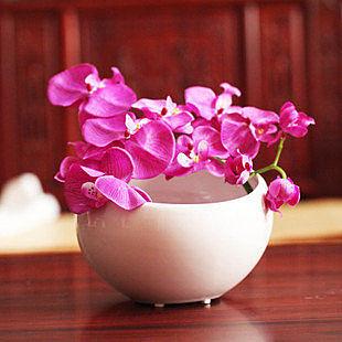 現代陶瓷工藝品擺件 家居裝飾 時尚簡約圓球花瓶