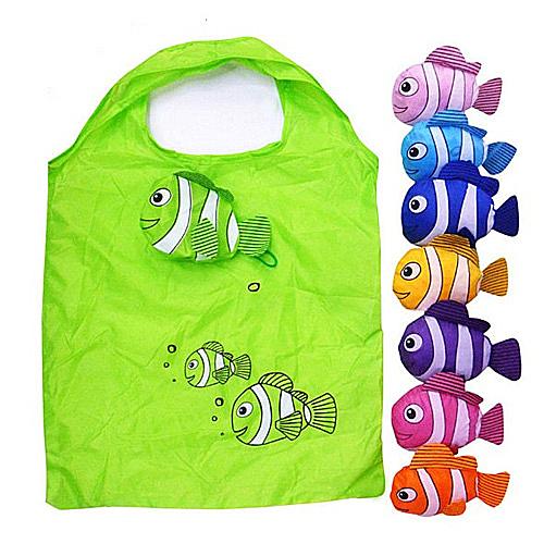 【超取399免運】熱帶魚環保折疊收納購物袋 企業禮贈品 歡迎選購