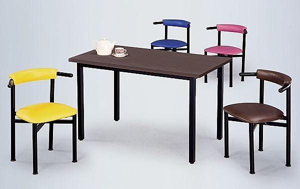 HY-Y300-7  貝勒餐椅(烤黑)