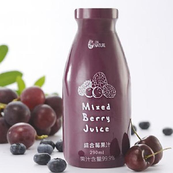 自然補給 綜合莓果汁 24入/箱 宅家好物