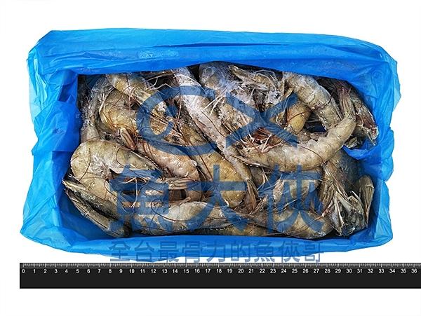 1C4B【魚大俠】SP021特美生白蝦40/50 (1.15kg/盒)#3