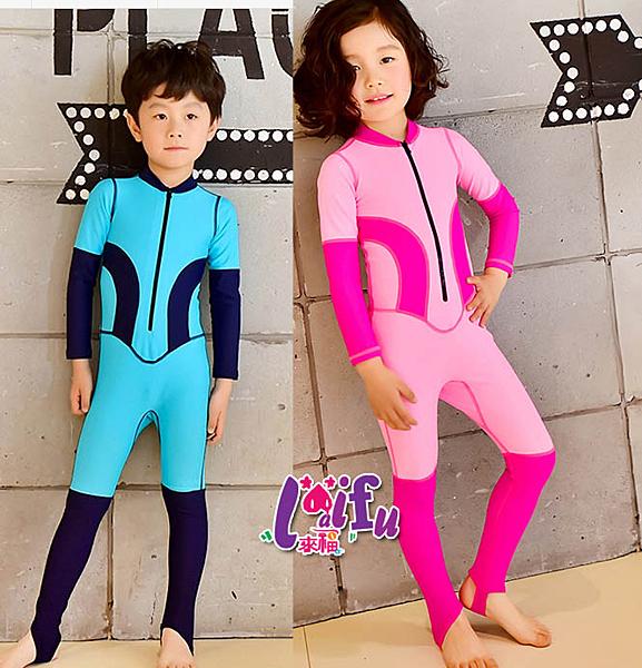 得來福兒童泳衣,F53泳衣嘻遊記兒童泳衣小朋友游泳衣連身泳裝長袖泳衣,一套售價750元