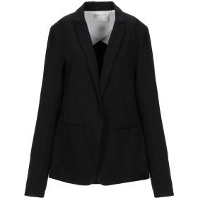 《セール開催中》FORTE_FORTE レディース テーラードジャケット ブラック 1 コットン 58% / 麻 42%